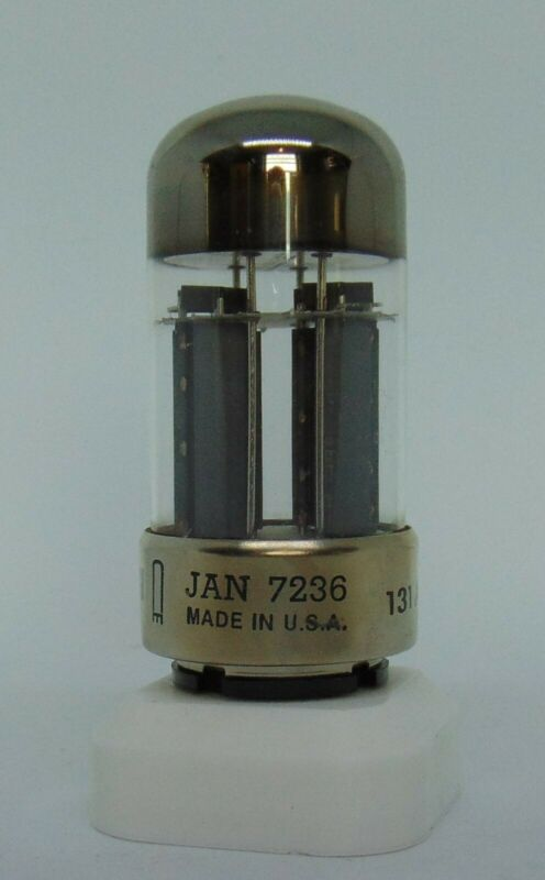 7236 tube NOS 1983 CETRON Sub 5998 6080WB 6AS7