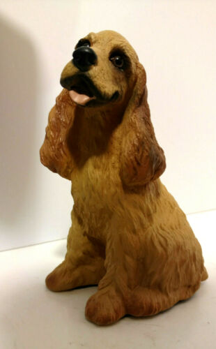 BUFF AMERICAN COCKER SPANIEL Made In USA 1990