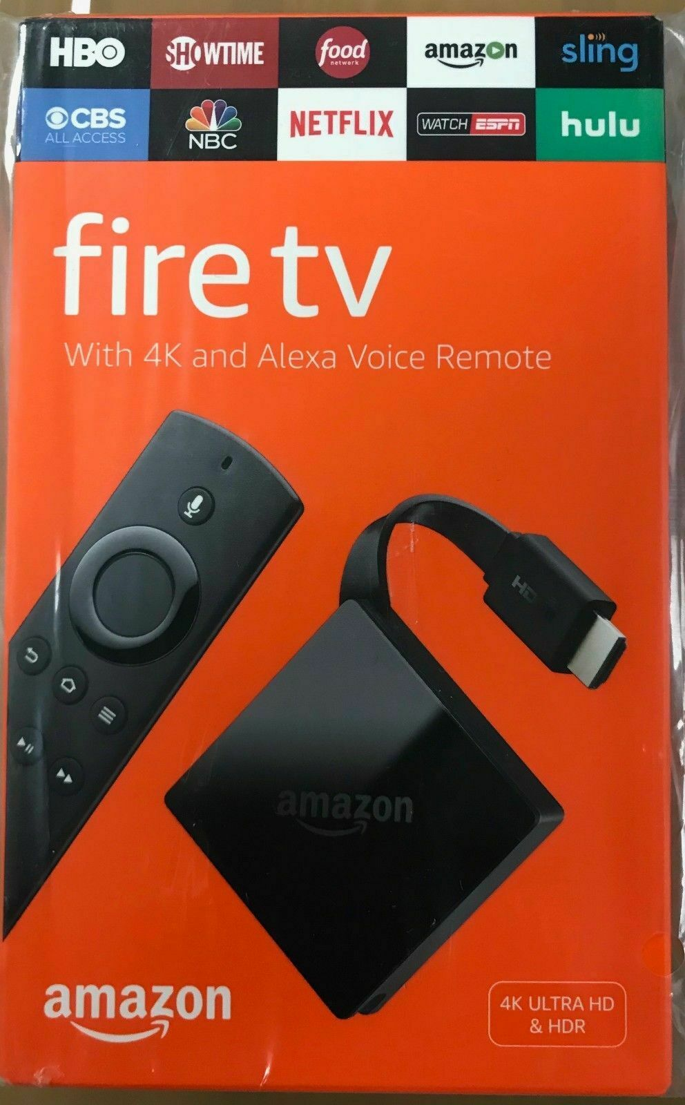 NEW Amazon Fire TV with 4K Ultra HD and Alexa Voice Remote B