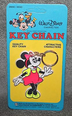 VINTAGE WALT DISNEY MINNIE MOUSE KEY CHAIN WALT DISNEY PROD MONOGRAM PRODUCTS