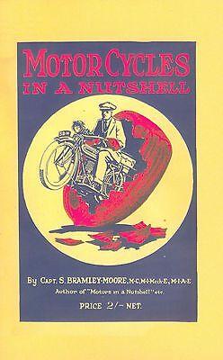 Vintage Motorcycle Book Motor Cycles in a Nutshell 1923 Scott Triumph Ariel JAP