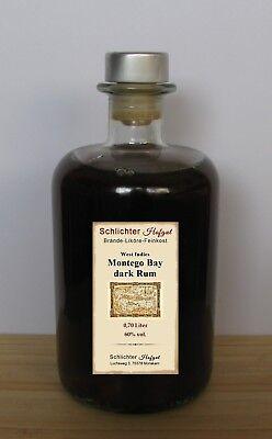 Rum Montego Bay Dark Westindischer 60% vol- 0,70l