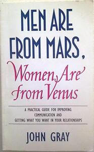 Men Are From Mars, Women Are From Venus Bonython Tuggeranong Preview