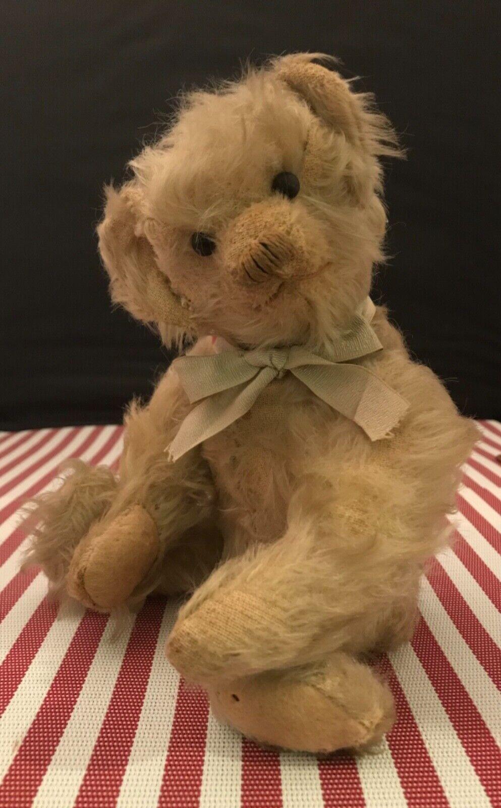 Wonderful Early Antique Teddy Bear With Huge Ears LOOK - $32.00