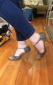 Heels shoes size 9 / 39 talon haut chaussure