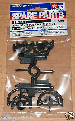 Tamiya 51460 TA06 Gear Differential Unit Bevel Gear Set, DB01RR/TRF418/XV-01/M07