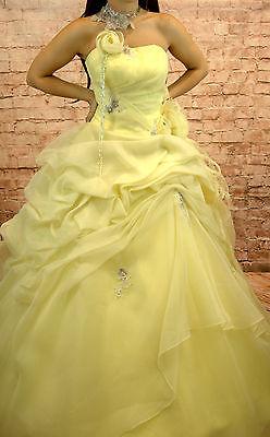 Vestido de Novia Sissi Sissikleid Talla 36 Hauchgelb