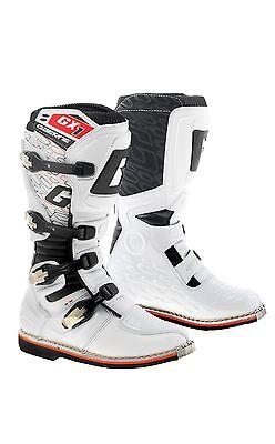 GAERNE GX1 WHITE MX BOOTS GOODYEAR SOLE MOTORCROSS MOTO-X OFF ROAD BOOTS Goodyear Road Boot