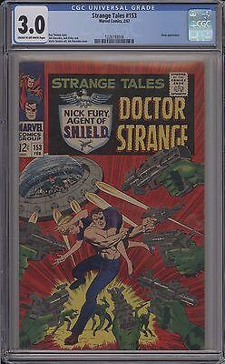 STRANGE TALES #153 - CGC 3.0 - 1226193018