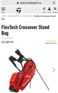 ** BRAND NEW ** Taylormade FlexTech Crossover Stand Golf Bag