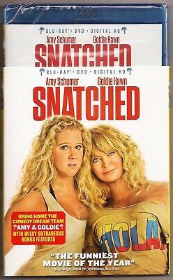 Snatched Blu Ray   Dvd   Digital Hd Amy Schumer Goldie Hawn Brand New