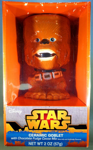 Star Wars Chewbacca Ceramic Goblet - Brand New in Sealed Package - 2012