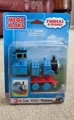 THOMAS THE TANK ENGINE MEGA BLOKS Build Thomas Toy Train construction