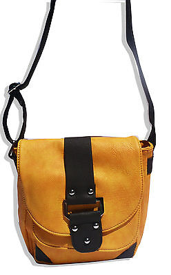 - MitsyFab Womens Lady Junior Handbag Messenger Cross body Shoulder Bag Satchel