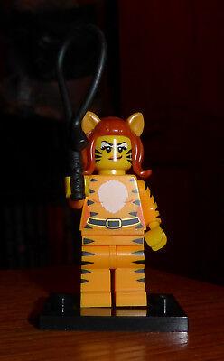 Lego - Halloween - Minifigures Series 14 - Tiger Woman - Complete - Retired - Lego Minifigures Series 14 Halloween