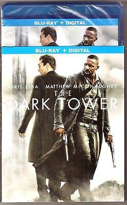 The Dark Tower Blu Ray   Digital Matthew Mcconaughey Brand New With Slip Cover