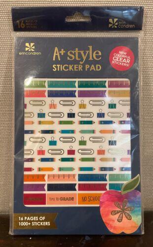 Erin Condren A Plus Sticker Pad