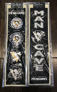 Pittsburgh Penguins Heritage & Man Cave Banner