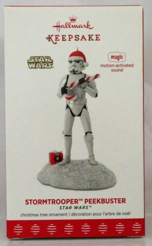 2017 Hallmark~STORMTROOPER™ PEEKBUSTER~Star Wars™~Motion-Activated Sound~NIB