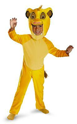 Disney Lion King Classic Simba Costume Child Small 2T