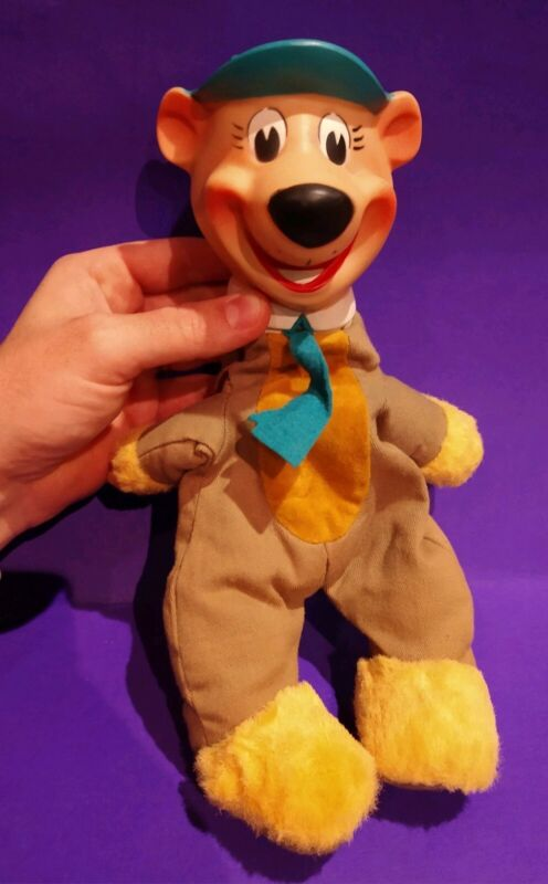 "VINTAGE TOY 13"" 1961 HANNA BARBERA YOGI BEAR DOLL"