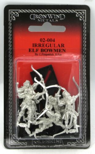 Ral Partha 02-004 Irregular Elf Bowmen [Random] (Fantasy Armies) Archer Warriors