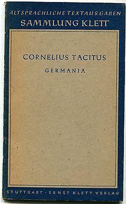 Cornelius Tacitus - Germania