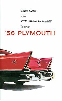 1956 Plymouth Passenger Car Owner's Manual