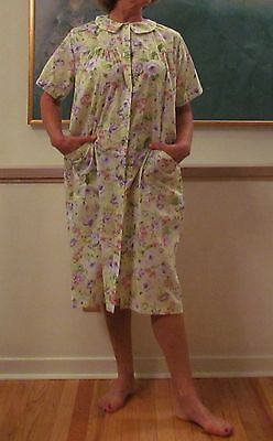 Duster Robe Housecoat Spring Prints 'made In Usa' Back In Stock