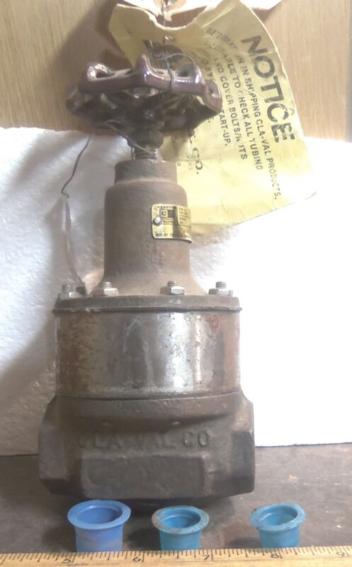 "Cla-Val Company - ½"" Steel Globe Valve - P/N: 3920101H (NOS)"