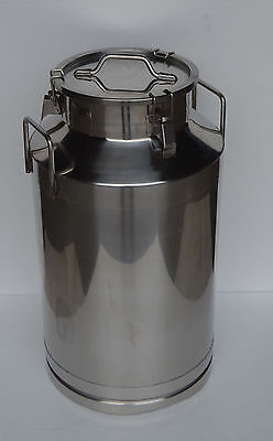 15.9 Gallon 60l Stainless Steel Winemilk Pail Beer Liquid Vessel Home Storage