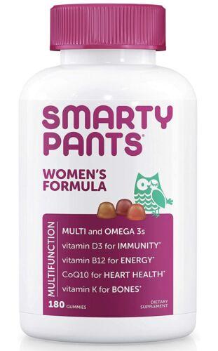 SmartyPants Womens Complete Gummy Vitamins: Multivitamin, Co