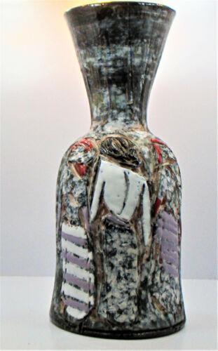 Vintage Italian Vase Fratelli Fanciullacci Mid Century Modern Women Pottery
