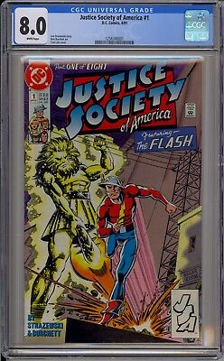 Justice Society of America #1 - CGC 8.0 - 1256340001