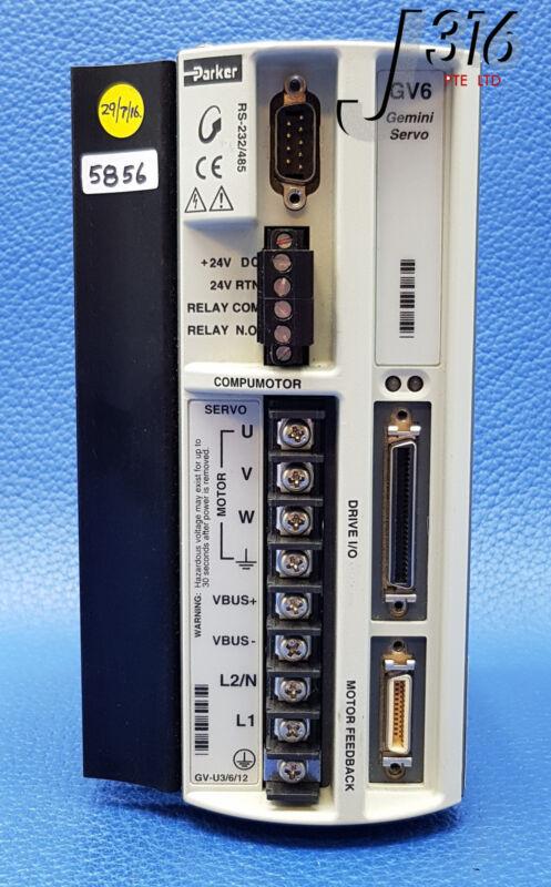 5856 PARKER GEMINI SERVO DRIVE RS-232/485 CP*GV6-U6E-007