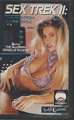 vhs SEX TREK 2 SEARCH FOR SPERM  Danielle Rogers Atlanta video og USA AV568