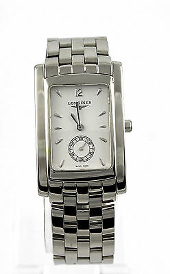 L5.655.4.16.6 Longines Dolce Vita Stainless Steel Mens Swiss Quartz Watch