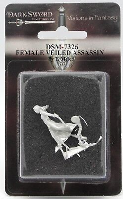 Dark Swords (Dark Sword DSM-7326 Female Veiled Assassin (Tom Meier) Dual-Wield Warrior)