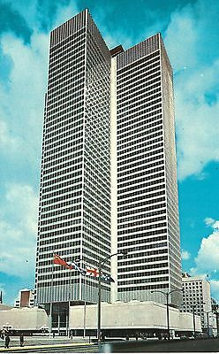 Montreal  Canada 1967 Postcard   Royal Bank Of Canada Building Place Ville Marie