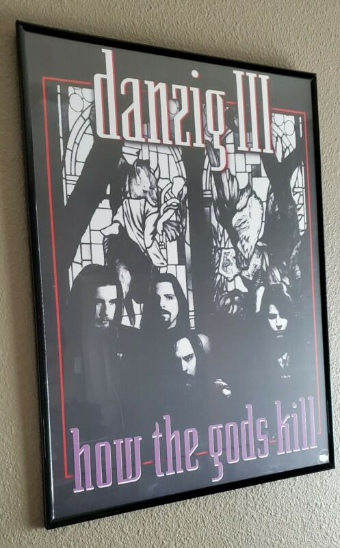 Danzig How the Gods Kill 18x24 Fan Poster Misfits Samhain