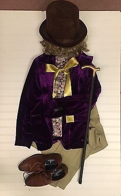 Charlie And Chocolate Factory Costume (Willy Wonka Young Adult Costume. Charlie And The Chocolate)