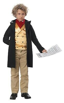 Famous Composer Beethoven Mozart Child Costume](Mozart Costume)