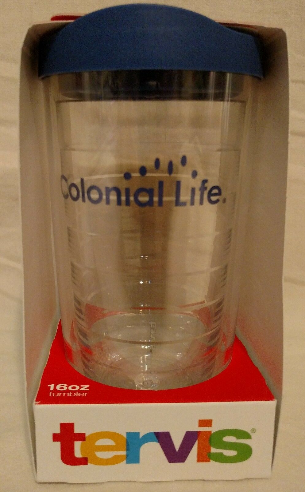 Colonial Life, Tervis 16oz Insulated Travel Cup, New!!!