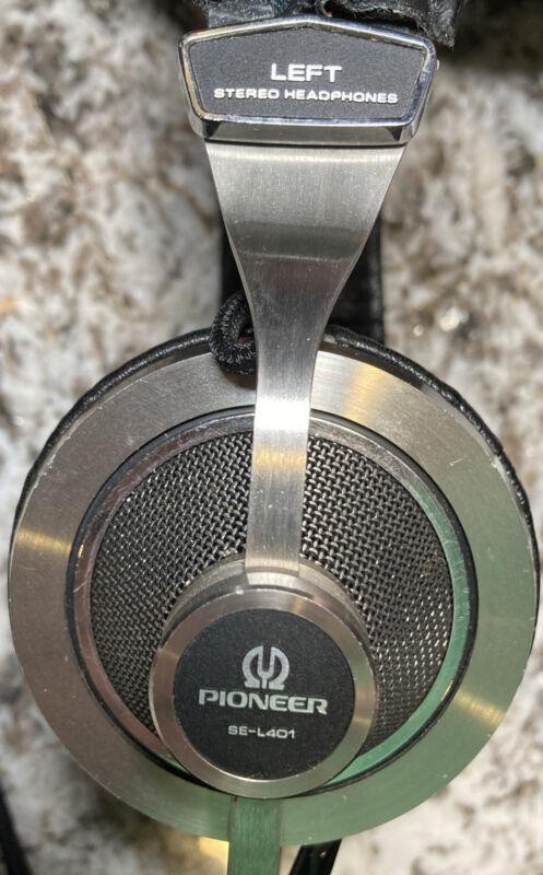 Vintage Pioneer SE-L401 Stereo Headphones