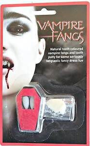 Halloween Vampire Fangs With Tooth Putty Minchinbury Blacktown Area Preview