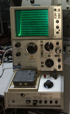 Tektronix Semiconductor Curve Tracer 577 D1 Storage With 177 Fixture