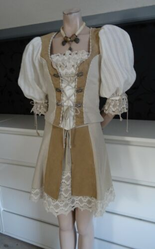 German  Bavarian Modern Linen Trachten Landhaus Outfit 6