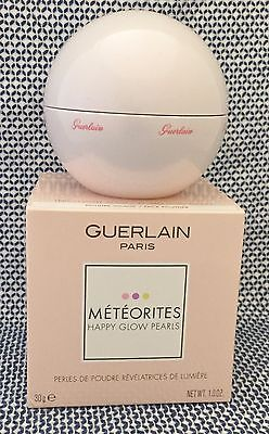 GUERLAIN METEORITES HAPPY GLOW PEARLS FACE POWDER Limited Ed. FREE SHIPPING US