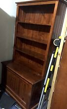 Solid Wood Bookcase with Toybox Ashfield Ashfield Area Preview