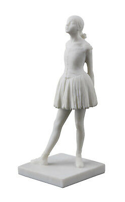 Degas Little Dancer - Degas Little Dancer Ballerina Figurine White Statue - Ballet Recital Dance Gift